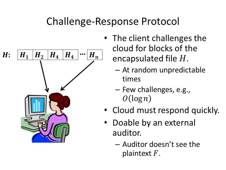 Challenge-Response Protocol …