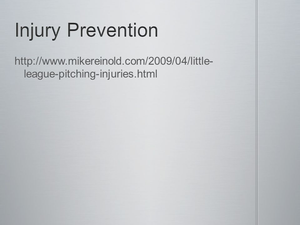 http://www.mikereinold.com/2009/04/little- league-pitching-injuries.html