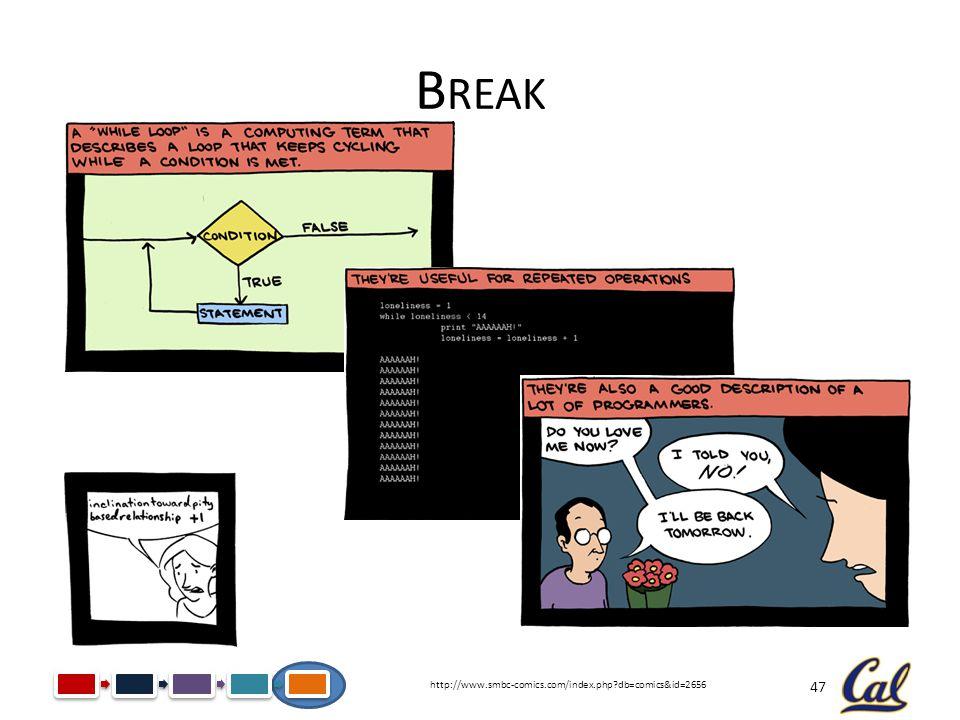 47 B REAK http://www.smbc-comics.com/index.php?db=comics&id=2656