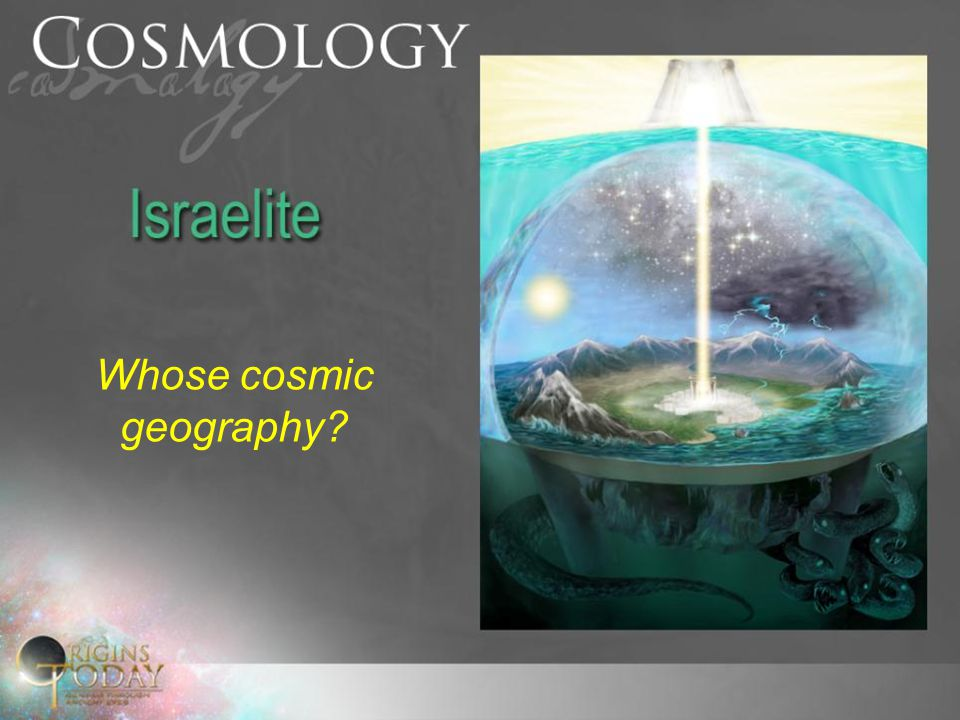 Whose cosmic geography?