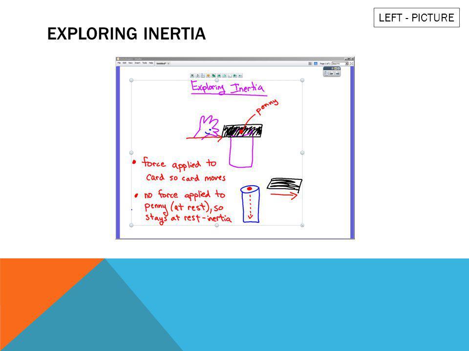 EXPLORING INERTIA LEFT - PICTURE