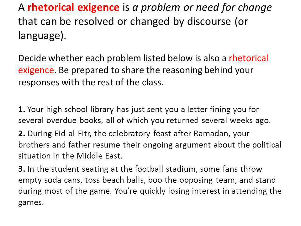 What is the Rhetorical Situation There are 4 key relationships (to the text) you should consider when analyzing a rhetorical situation.