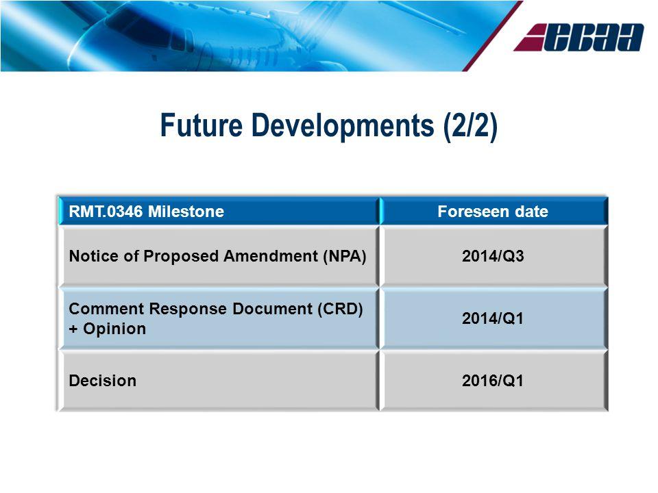 © EBAA Future Developments (2/2)