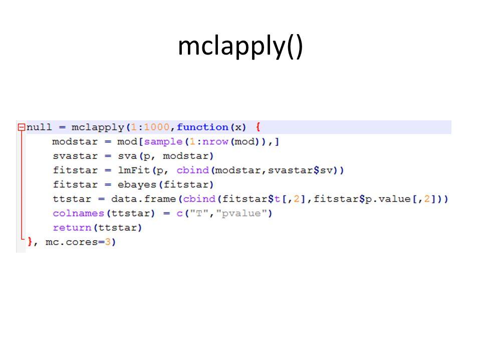 mclapply()