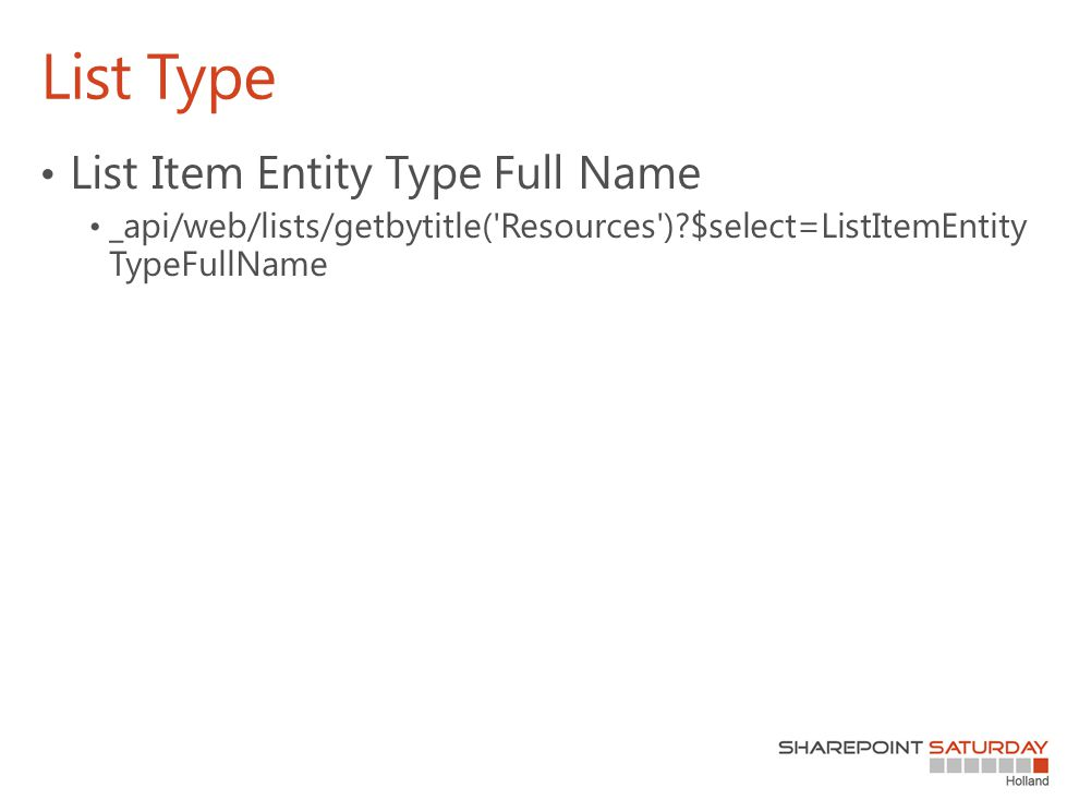 List Type