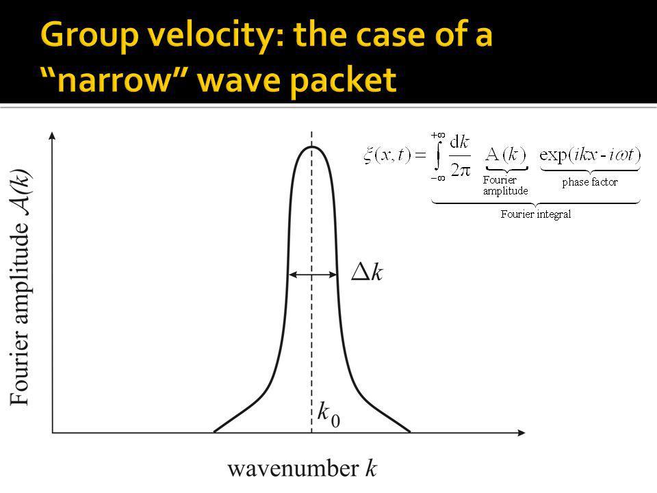 Flux = density x velocity Incoming flux: Outgoing flux: 1 2