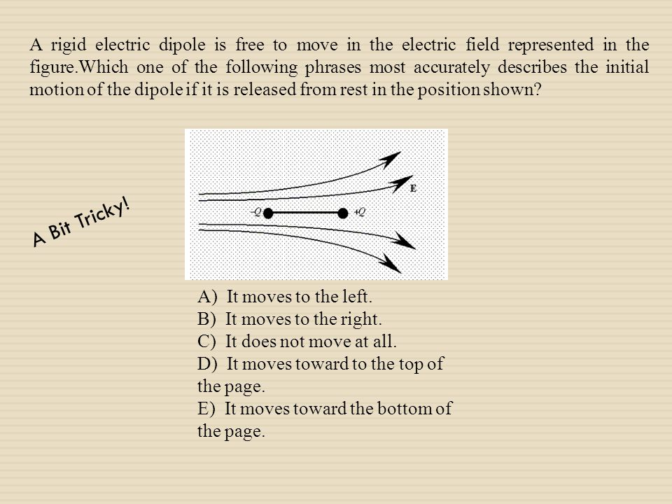What is the electric field at the center of the square array?
