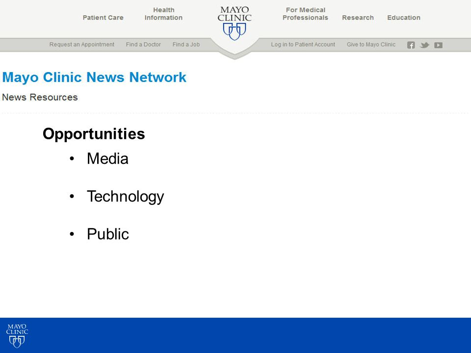 Opportunities Media Technology Public
