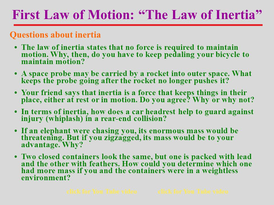 The acceleration on an object is directly proportional to the magnitude of the net external force, is in the same direction as the net force, and is inversely proportional to the mass of the object Second Law of Motion: The Law of Acceleration Objects that are not in equilibrium will accelerate.