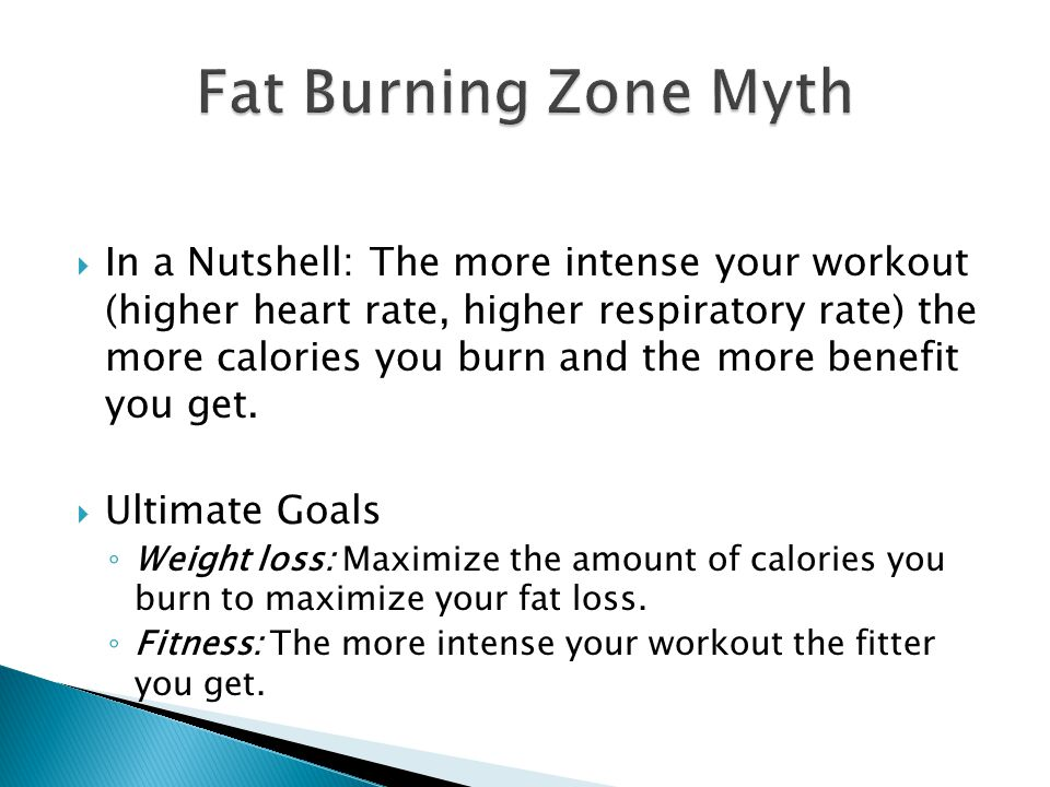 In a Nutshell: The more intense your workout (higher heart rate, higher respiratory rate) the more calories you burn and the more benefit you get. Ult