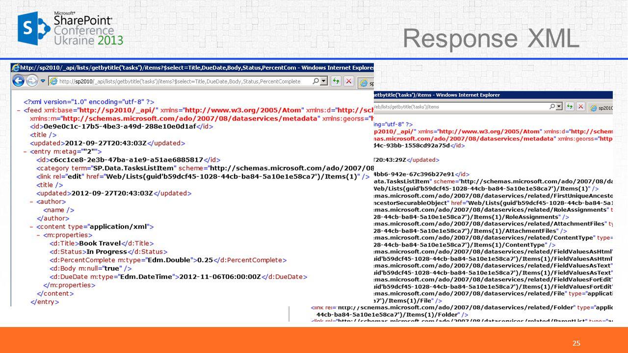 Response XML 25