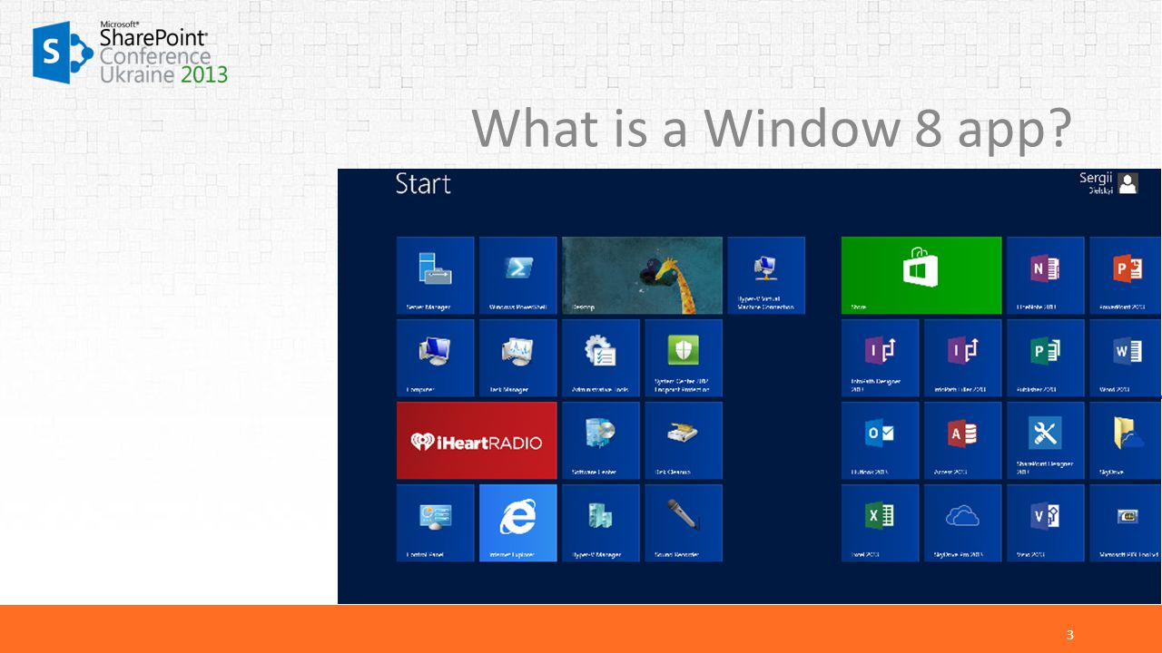 What is a Window 8 app 3