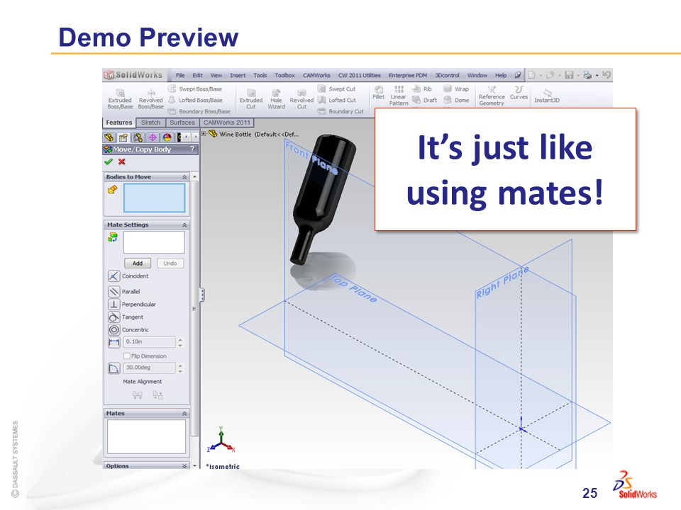 25 Demo Preview Its just like using mates!