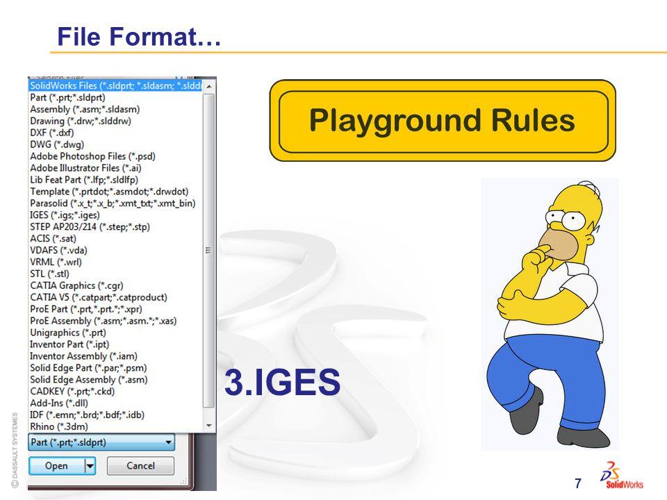 7 File Format… 3.IGES