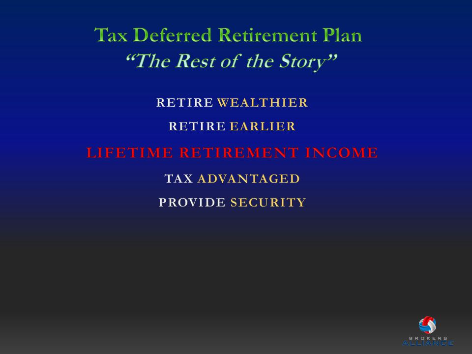 IT IS TIME FOR YOU TO TAKE CHARGE OF YOUR RETIREMENT GOALS!