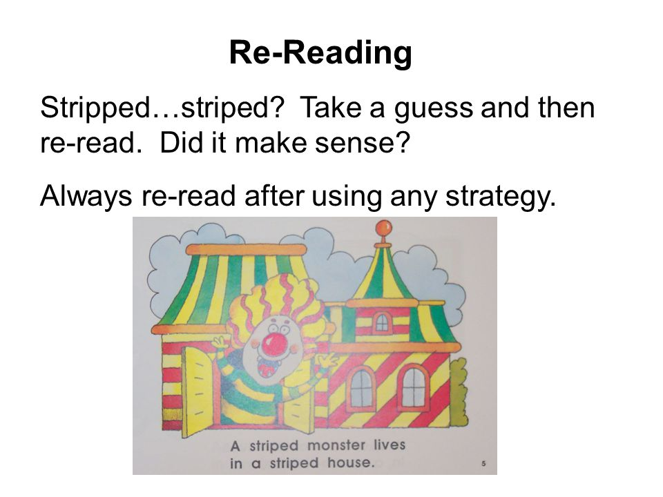 Re-Reading Stripped…striped. Take a guess and then re-read.