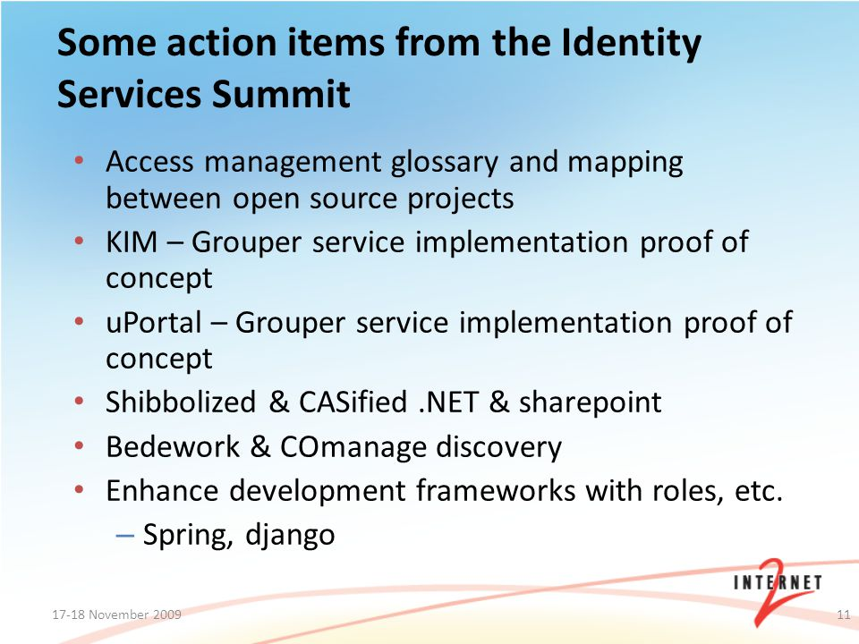 Access management glossary and mapping between open source projects KIM – Grouper service implementation proof of concept uPortal – Grouper service im