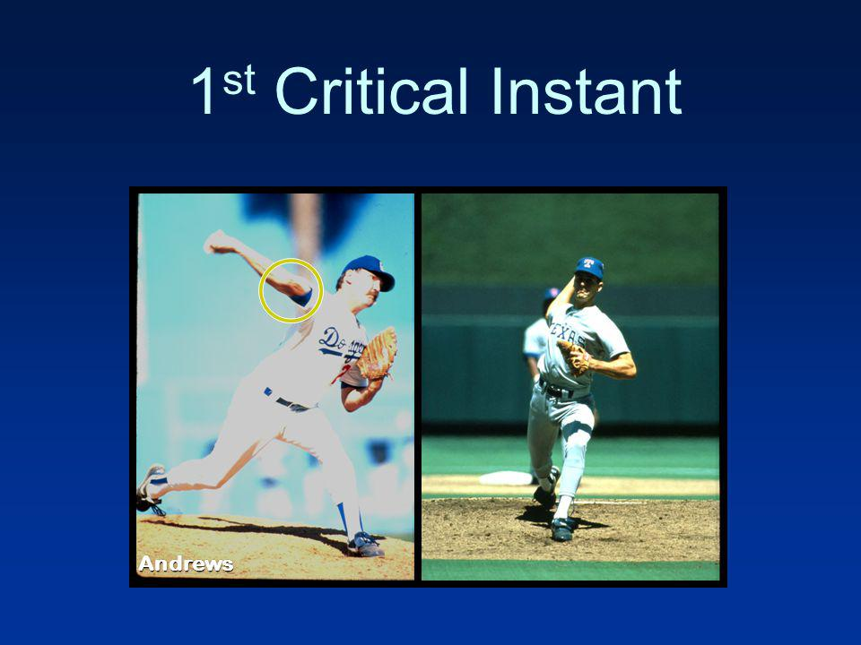 1 st Critical Instant Andrews
