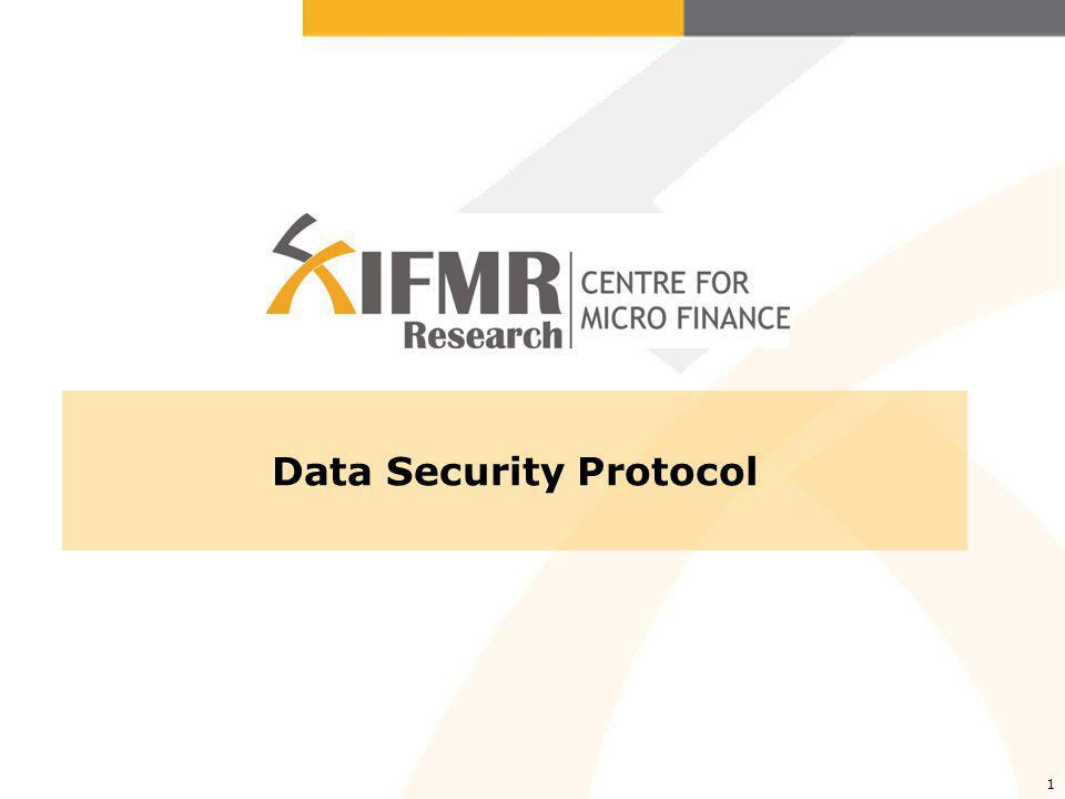 1 Data Security Protocol