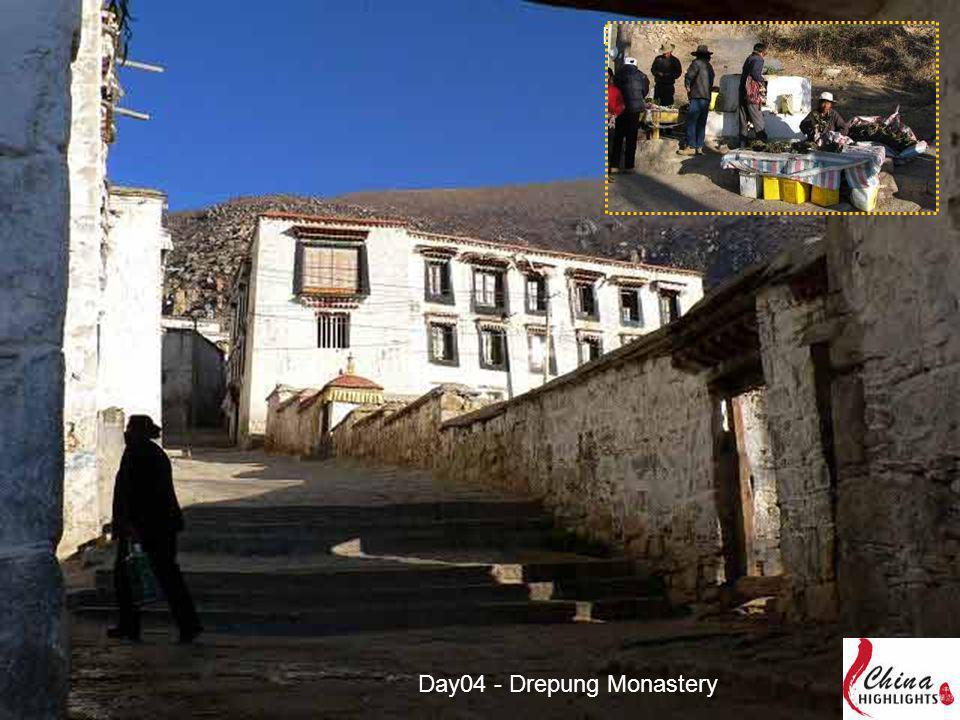 Day03 - Drepung Monastery Day04 - Drepung Monastery
