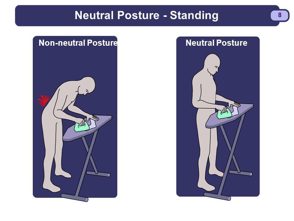 BDYSTR97.PPT - 8 8 Neutral Posture - Standing Non-neutral PostureNeutral Posture