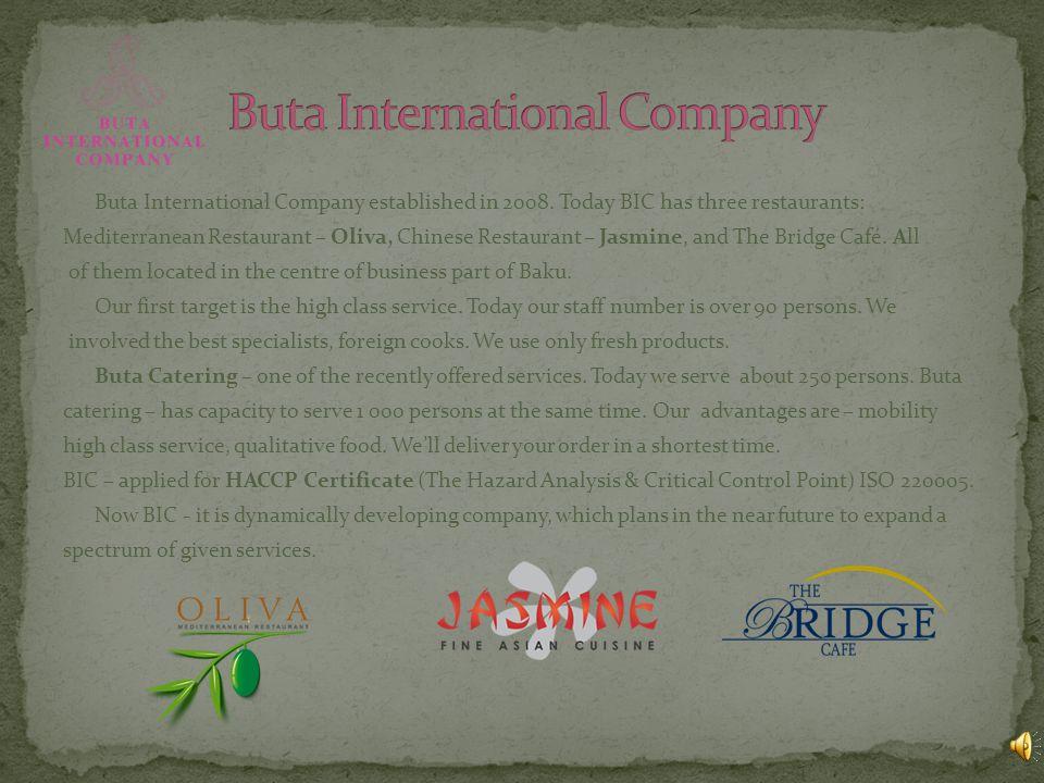 Buta International Company established in 2008.