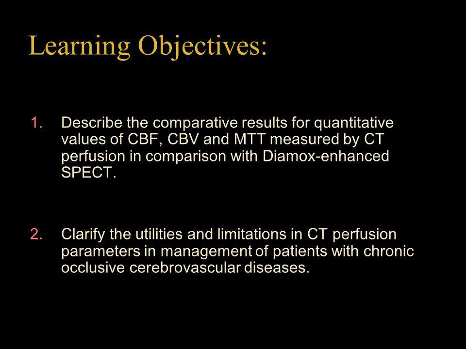 Summary 1 Every CT perfusion parameters correlate with CPR.
