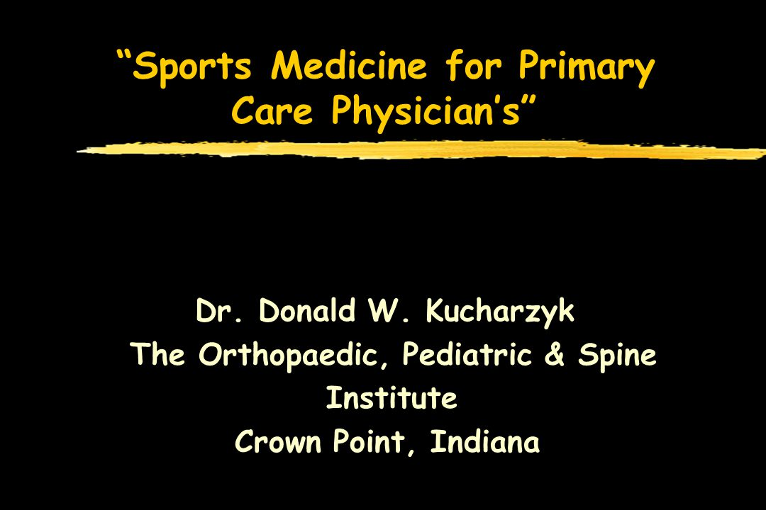 Sports Medicine for Primary Care Physicians Isolated Anterior Cruciate Ligament zDivided into two groups: those without functional instability and those with zIn those without limitations, conditioning and participation in sports without limitations can occur zIn those with limitations, thorough evaluation for other associated injuries must be undertaken MRI and Plain X-ray s