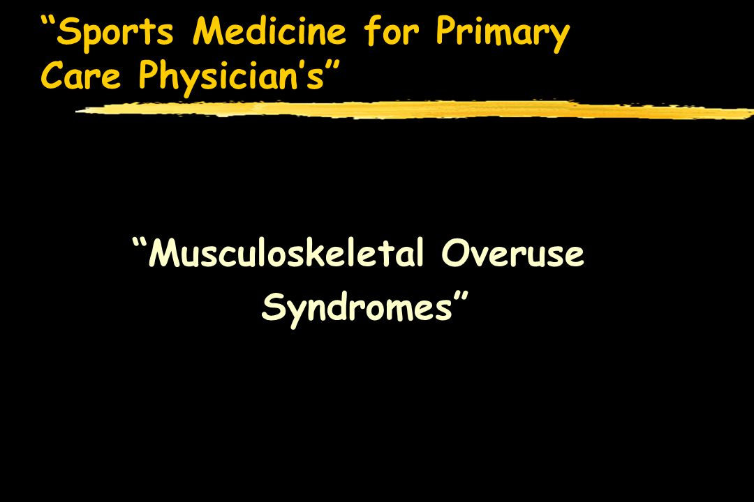 Sports Medicine for Primary Care Physicians zClinically presents with vague knee pain that is aggravated with sports, intermittent swelling seen, and at times a feeling of the knee locking zPhysical exam is nonspecific zRadiographic evaluation includes x-ray s and if indicated an MRI zMost importantly, must differentiate acute lesions from silent chronic lesions