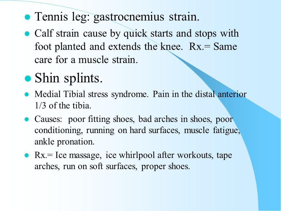 Ankle Injuries l Sprains. l Grade1=3-7 days out. l Grade 2=7-14 days out. l Grade 3= 2-6 weeks out. l Rx.= RICE, horseshoe. l Achilles tendonitis. l R
