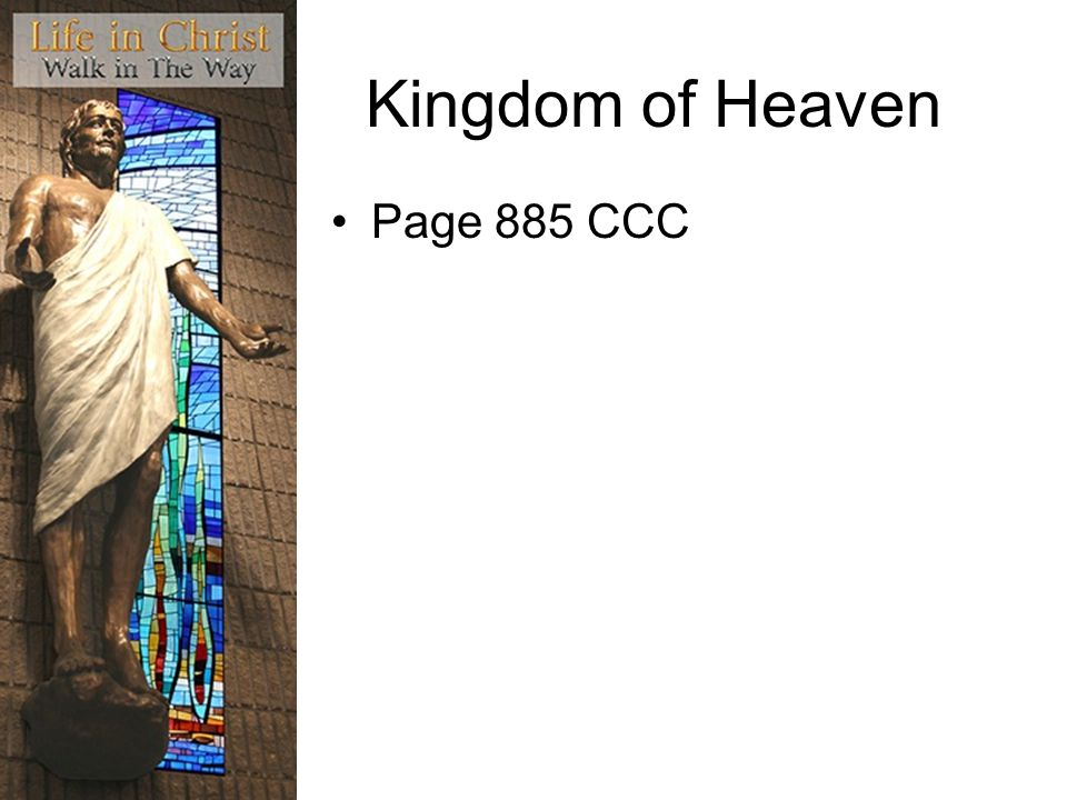 Kingdom of Heaven Page 885 CCC