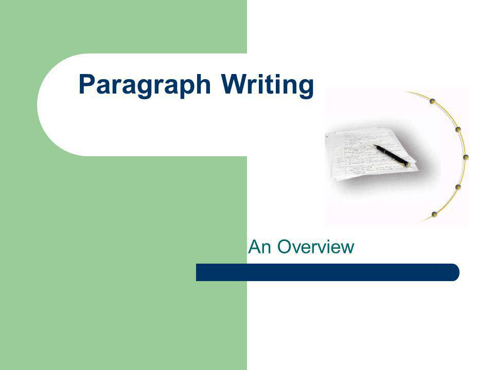 Definition of a Paragraph A paragraph is a basic unit of organization in writing in which a group of related sentences develops and expresses one main idea.