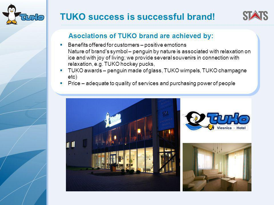 TUKO success is successful brand.