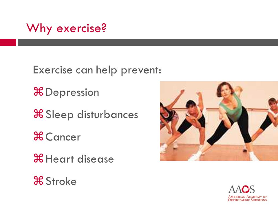 7 Why exercise.