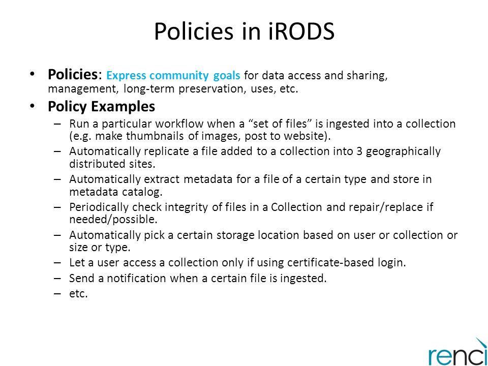 PoDRI: Policy-Driven Repository Interoperability