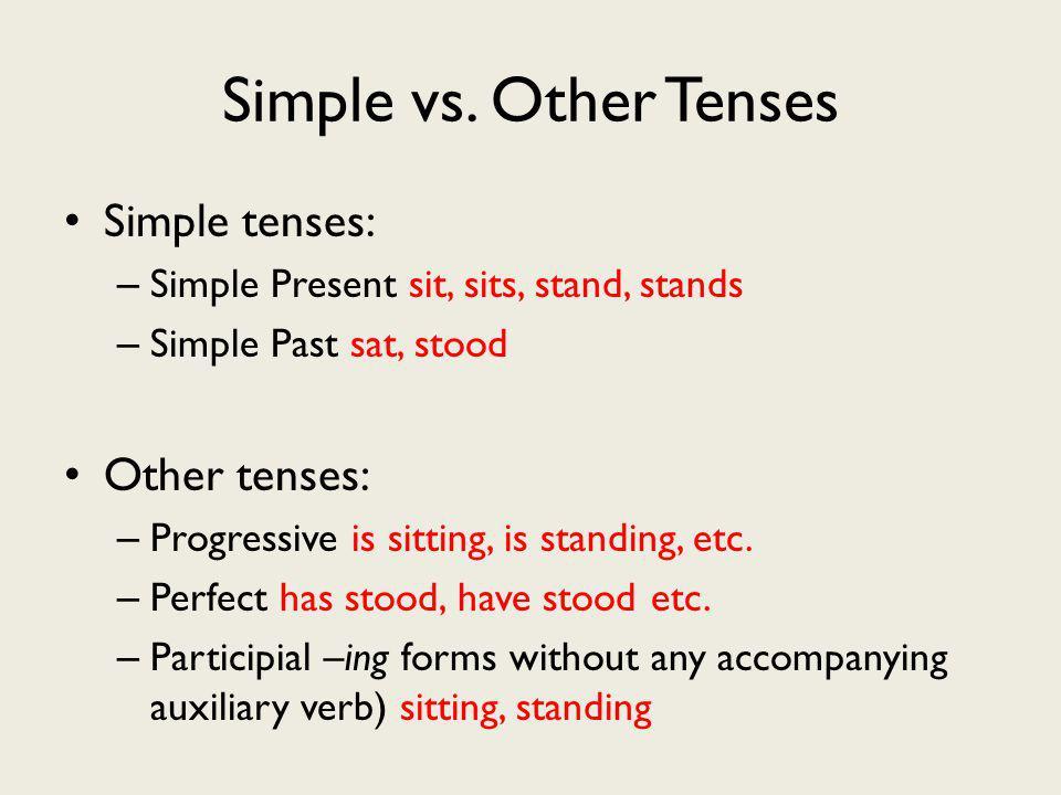Simple vs.