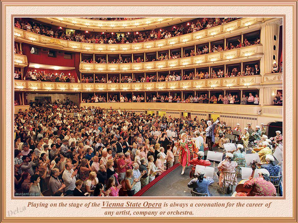 An original room inside Vienna State Opera.