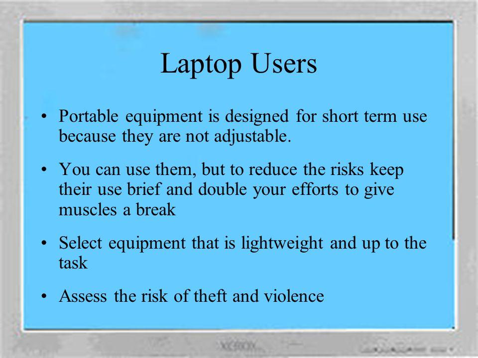 Computer Interface Source: Healthy Computing Guide www.microsoft.com/hardware/hcg/default.html