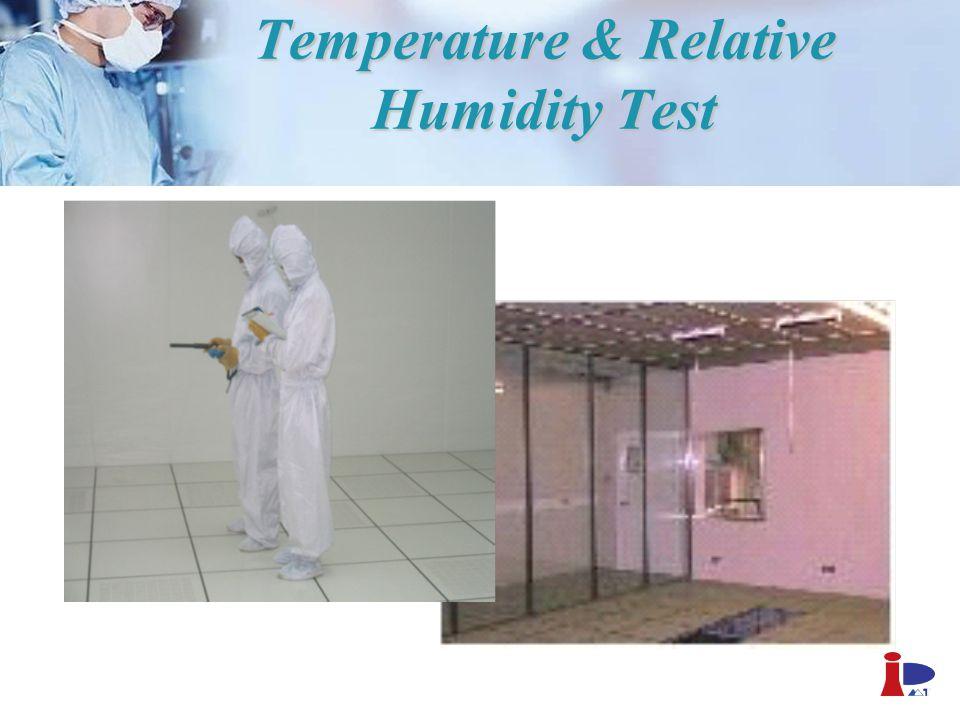 Temperature & Relative Humidity Test