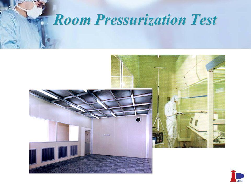 Room Pressurization Test