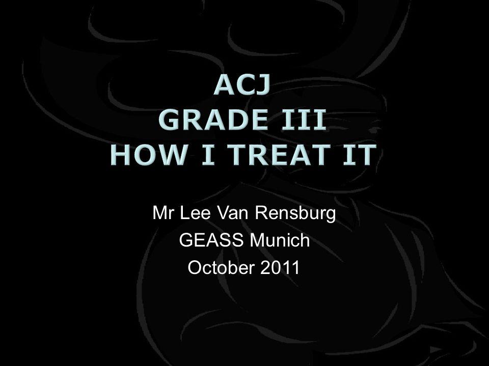 Mr Lee Van Rensburg GEASS Munich October 2011