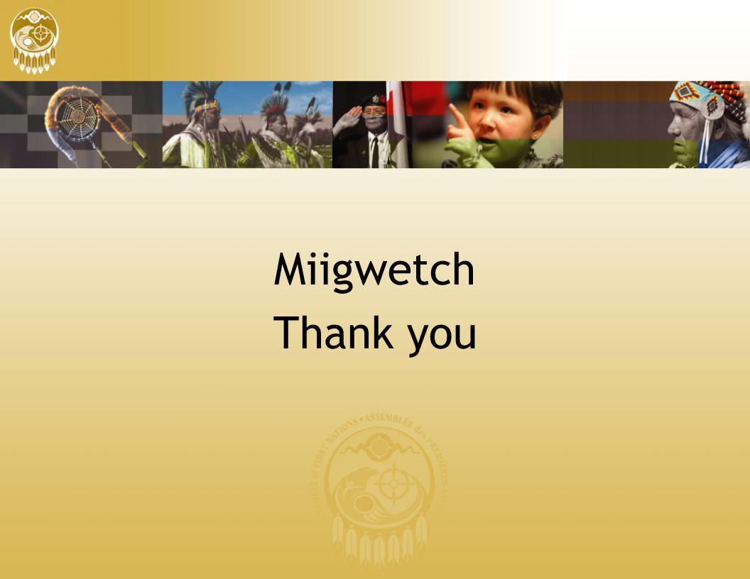 Miigwetch Thank you