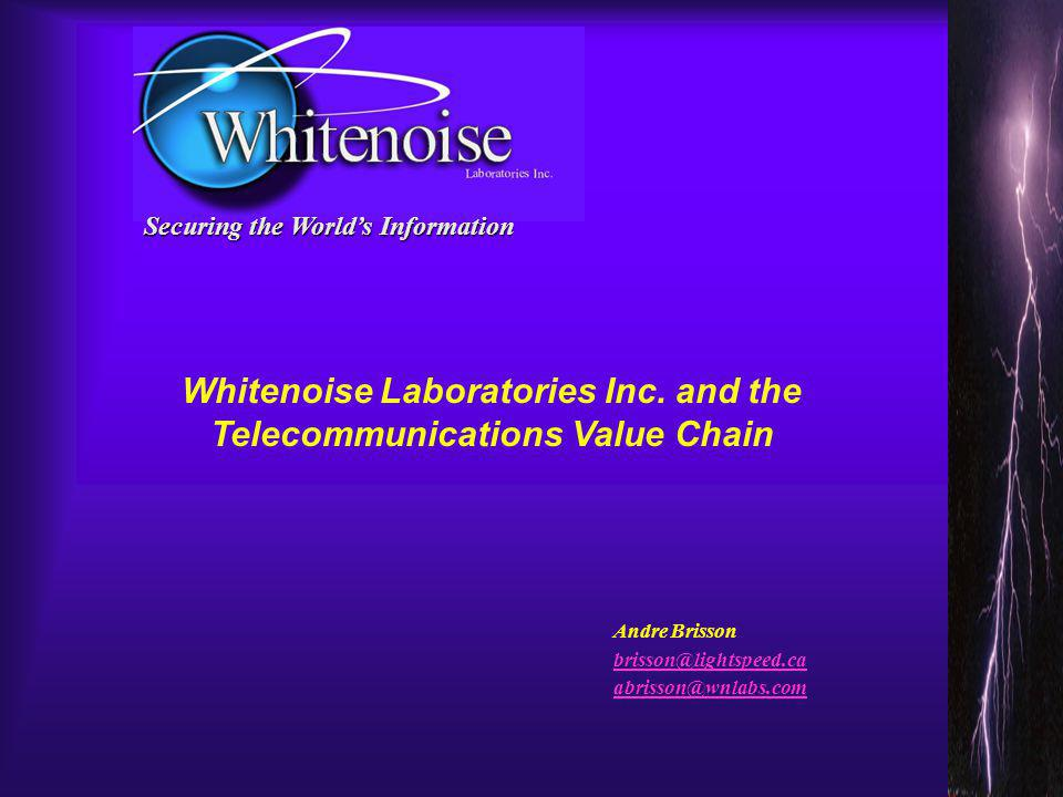 What problem does Whitenoise solve.