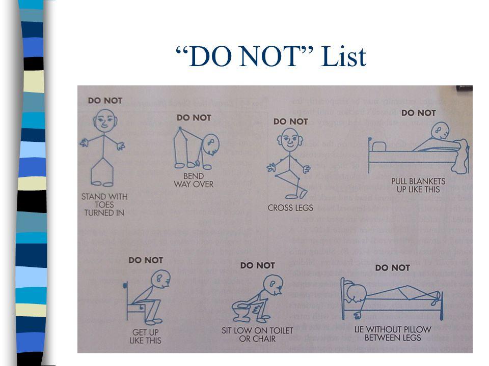 DO NOT List