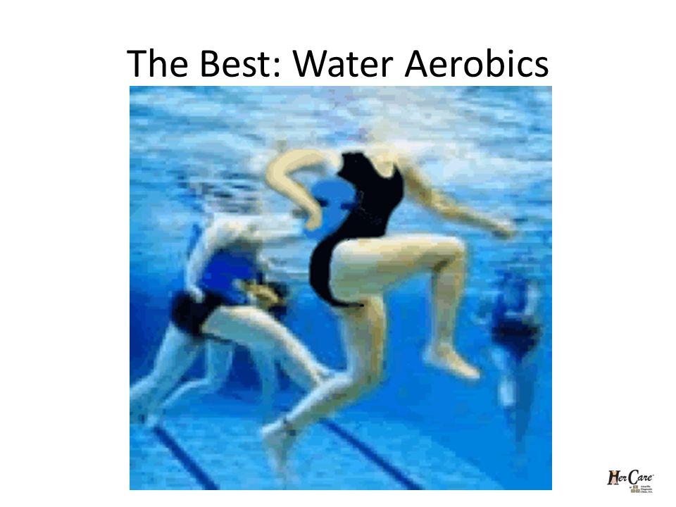 The Best: Water Aerobics