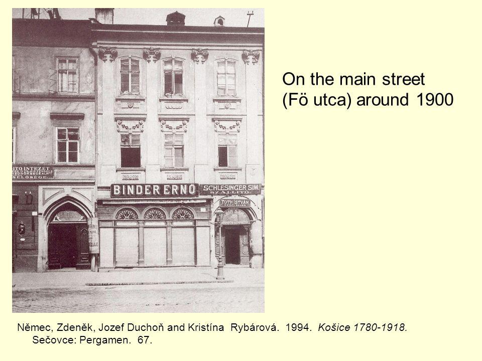 Němec, Zdeněk, Jozef Duchoň and Kristína Rybárová.