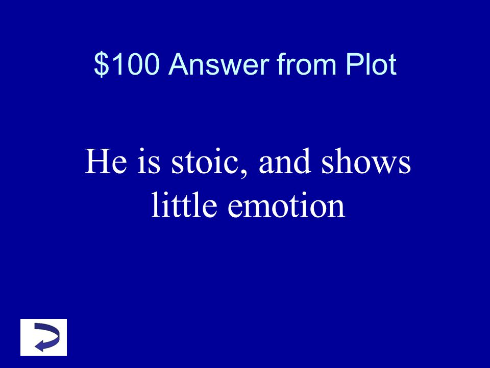 $100 Question from PLOT How does Brutus respond upon learning of his wifes demise?