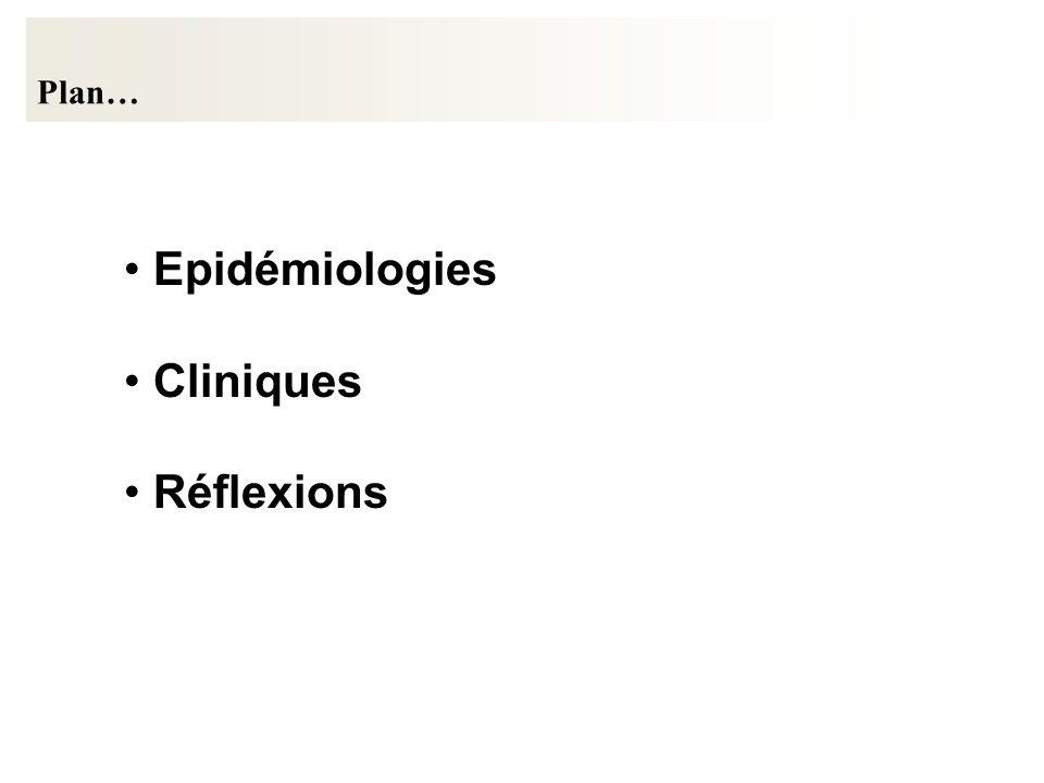 Epidémiologies Cliniques Réflexions Plan…