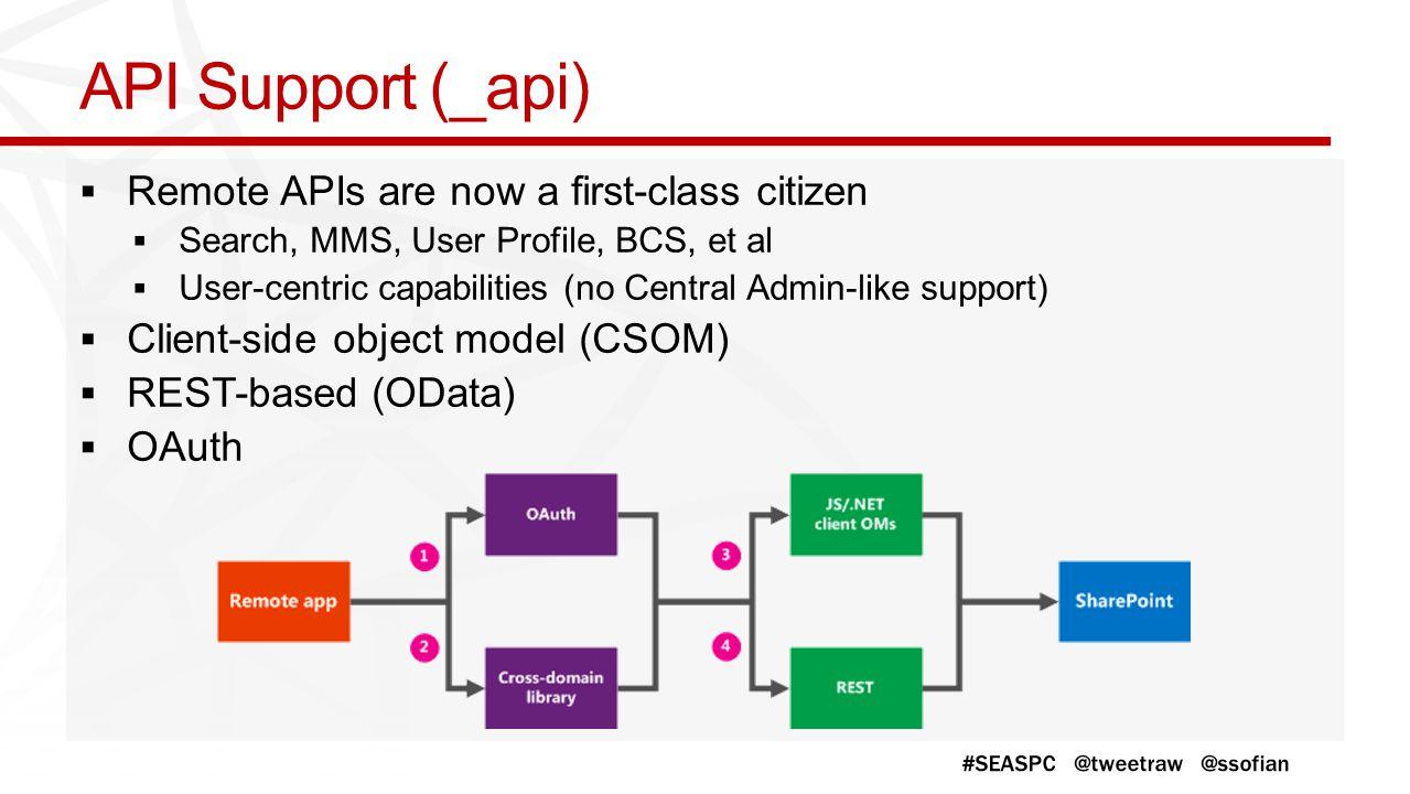 API Support (_api)