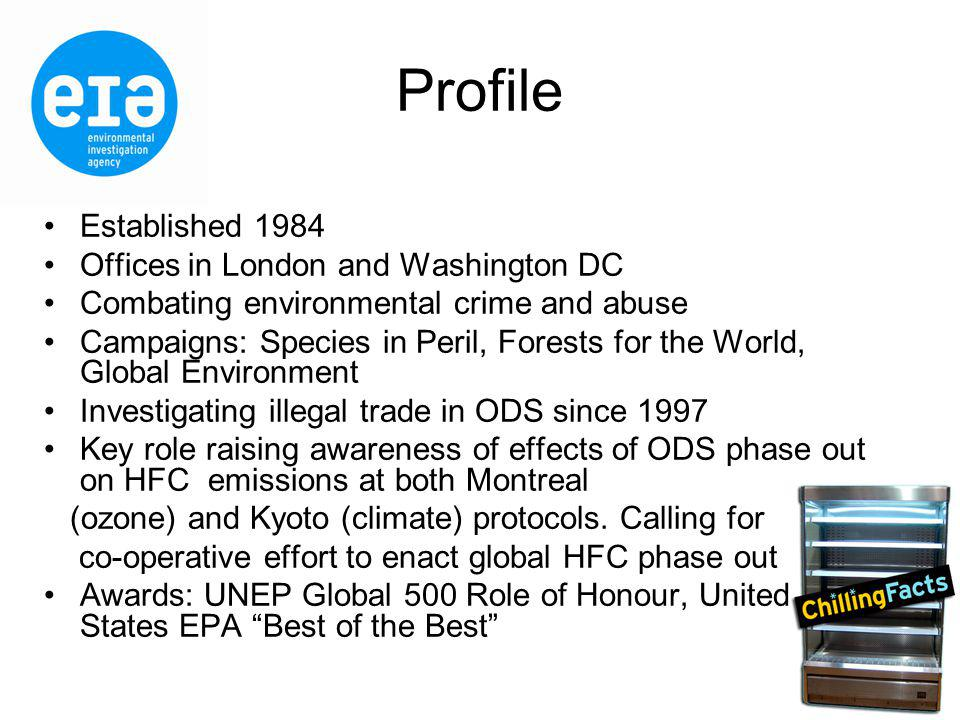Why HFCs.Direct replacements to ODS-HCFCs.